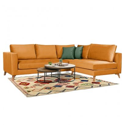 Πολυμορφικός γωνιακός καναπές Gold