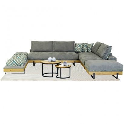 Γωνιακός καναπές Box