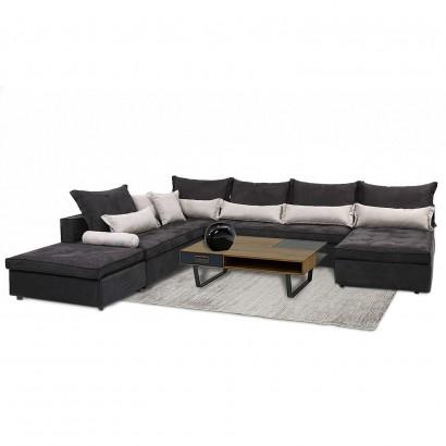 Πολυμορφικός γωνιακός καναπές Hugo