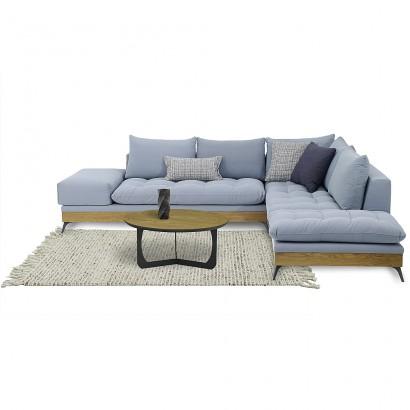 Γωνιακός καναπές Leron