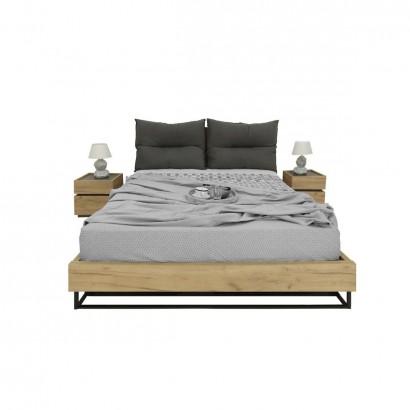 Σετ κρεβατοκάμαρας Pavia pillow για στρώμα (1,60 Χ 2,00)