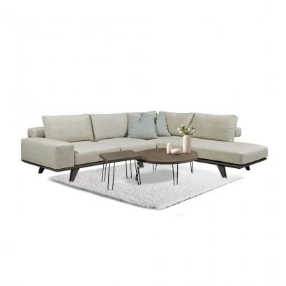 Γωνιακός καναπές Dark
