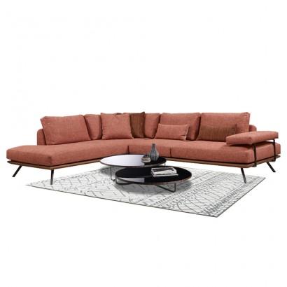 Γωνιακός καναπές Elegant