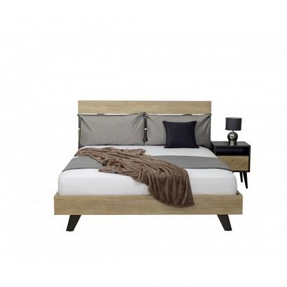 Κρεβάτι διπλό Joy (για στρώμα 1,60 Χ 2,00)