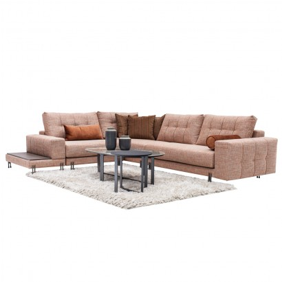 Πολυμορφικός γωνιακός καναπές Lidia