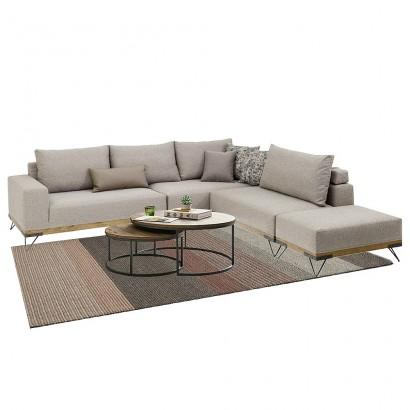 Πολυμορφικός γωνιακός καναπές Lounge