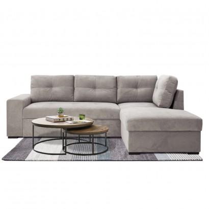 Γωνιακός καναπές κρεβάτι Noche