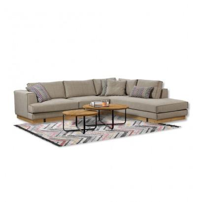 Γωνιακός καναπές Oak