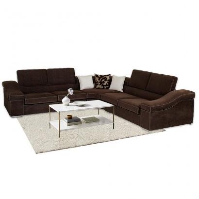 Γωνιακός καναπές Poly