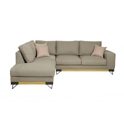 Καναπές γωνία Crown