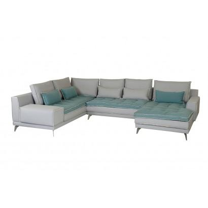 Γωνιακός καναπές Petra