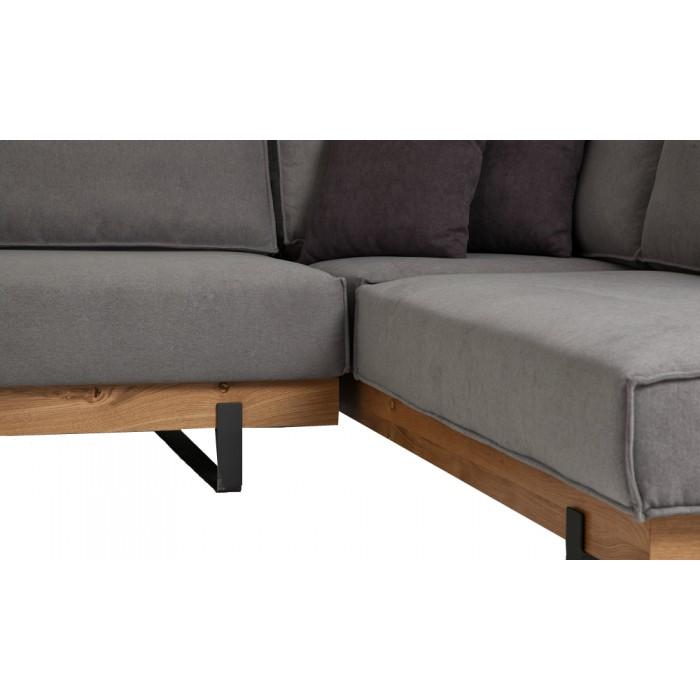 Γωνιακός καναπές Wood
