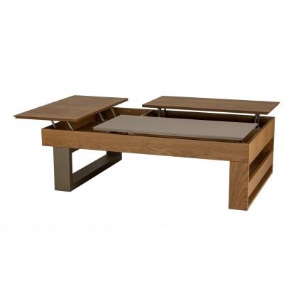 Πολυμορφικό τραπέζι σαλονιού Dexter