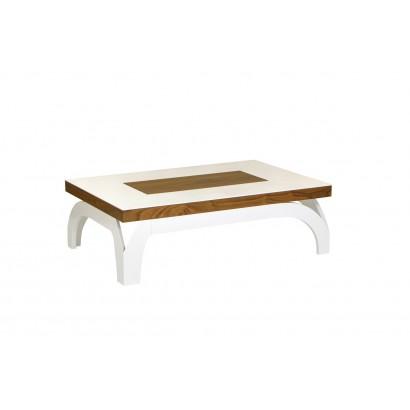 Τραπέζι σαλονιού με επέκταση White