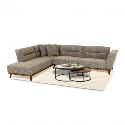 Γωνιακός καναπές Vintage
